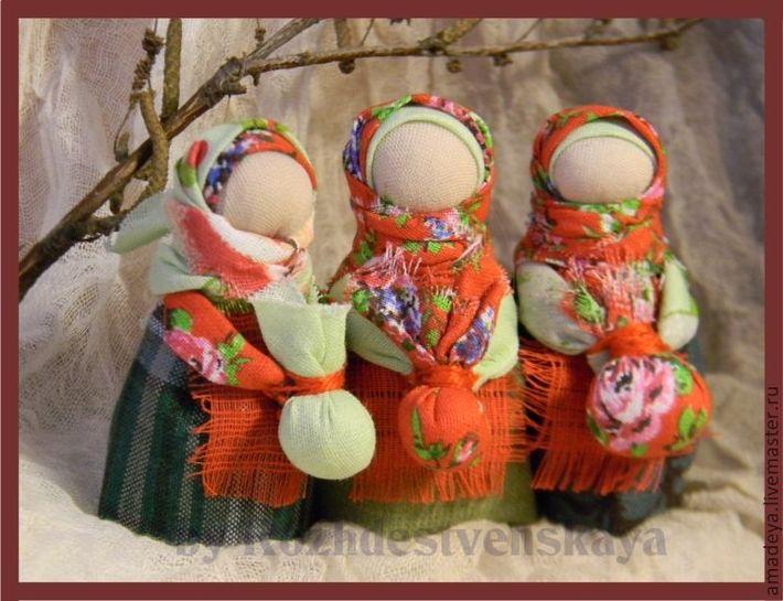 Куклы-обереги для детей своими руками